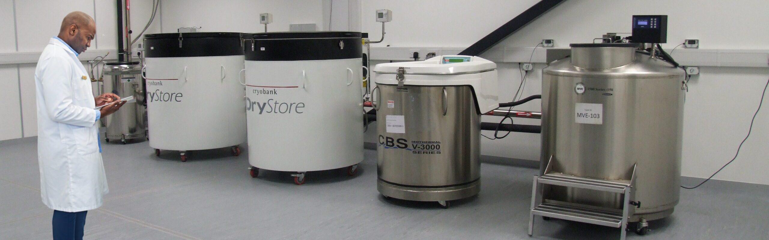 storing liquid nitrogen safely